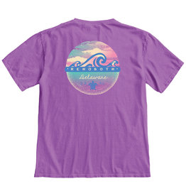 BLUE 84 MYTHIC WAVES SS TEE