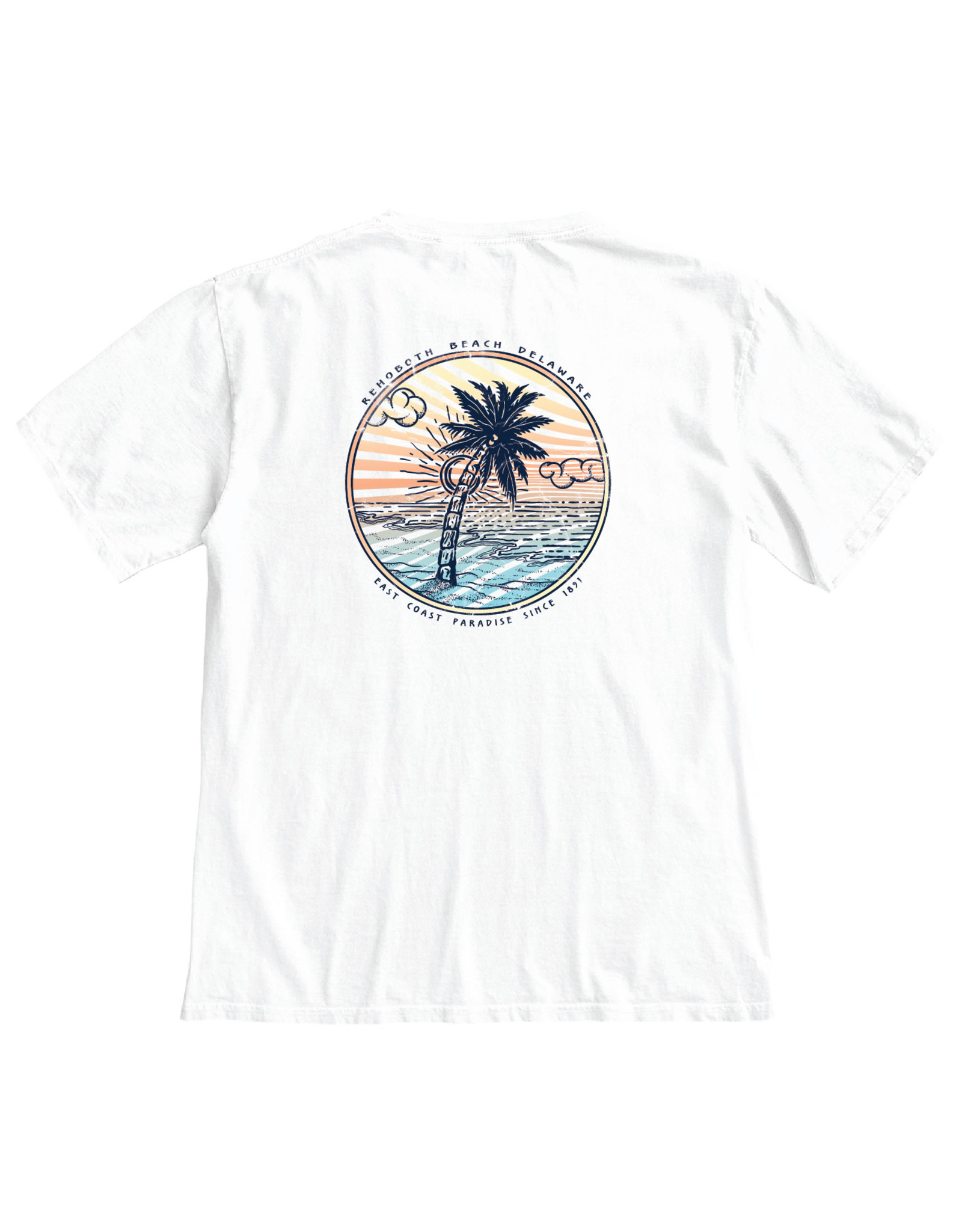 BLUE 84 PICKLED PALM SS TEE