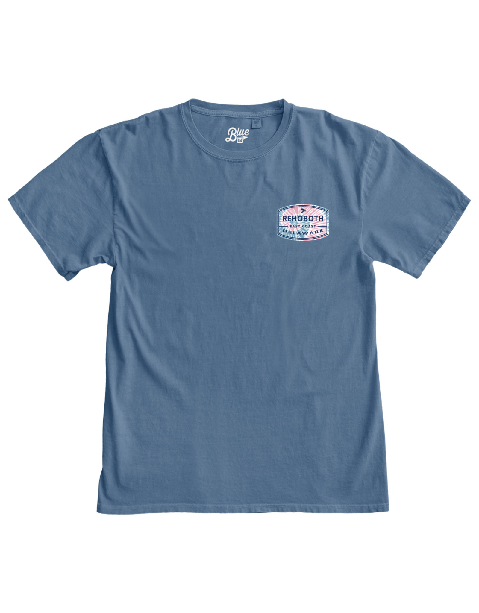 BLUE 84 FRATELLO PINK SWIRL SS TEE