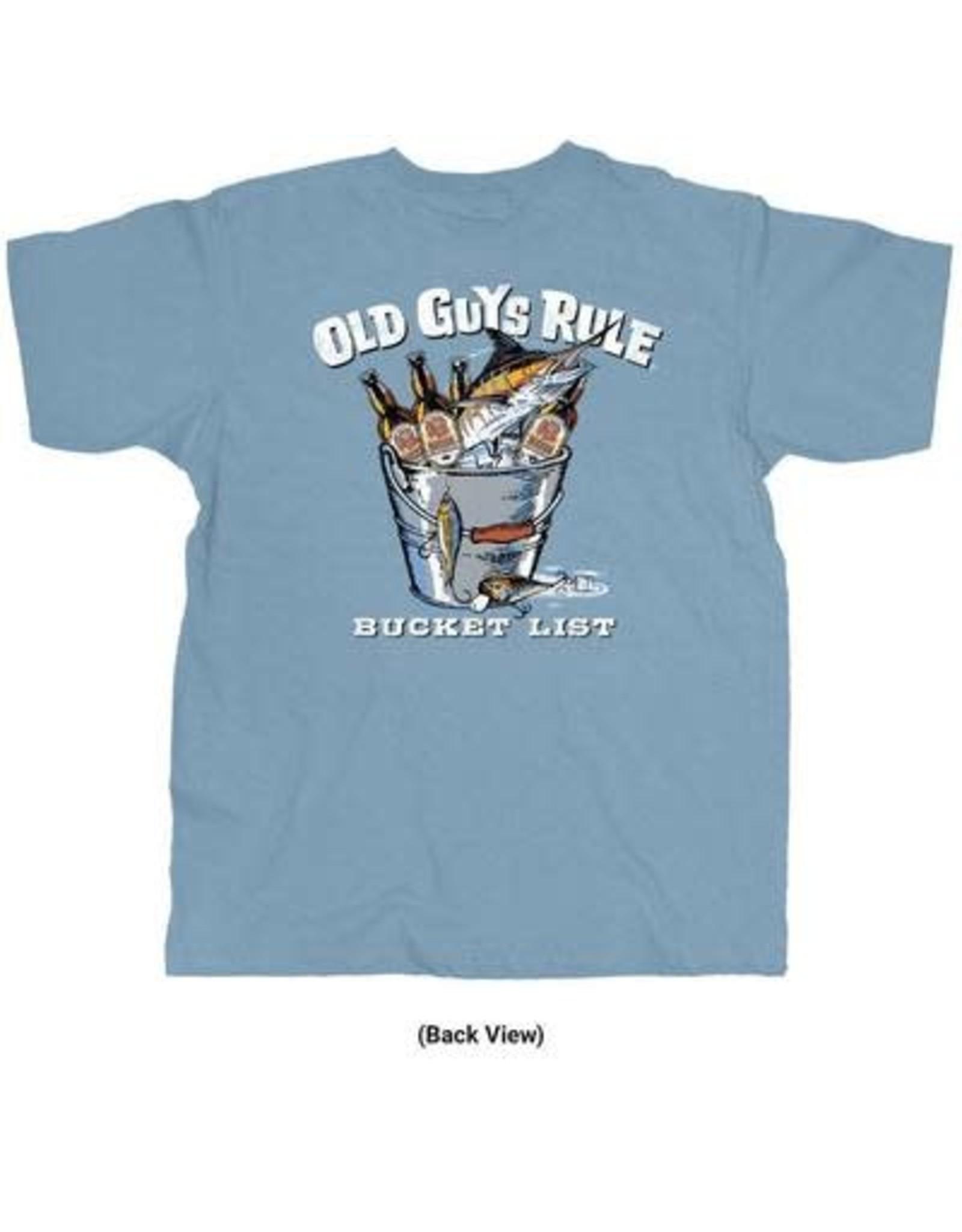 OLD GUYS RULE OLD GUYS RULE BUCKET LIST SS TEE