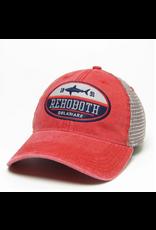 LEGACY ATHLETICS LEGACY DASHBOARD TRUCKER HAT SCARLET/GREY SPLIT SHARK