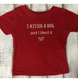 REHOBOTH LIFESTYLE INFANT CLASSIC KISSED A DOG SS TEE