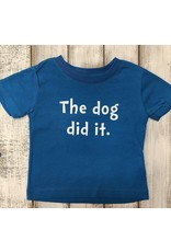 REHOBOTH LIFESTYLE INFANT CLASSIC DOG DID IT SS TEE