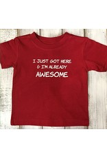 REHOBOTH LIFESTYLE INFANT CLASSIC ALREADY AWESOME SS TEE