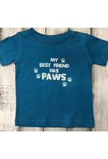 REHOBOTH LIFESTYLE INFANT CLASSIC BF HAS PAWS SS TEE