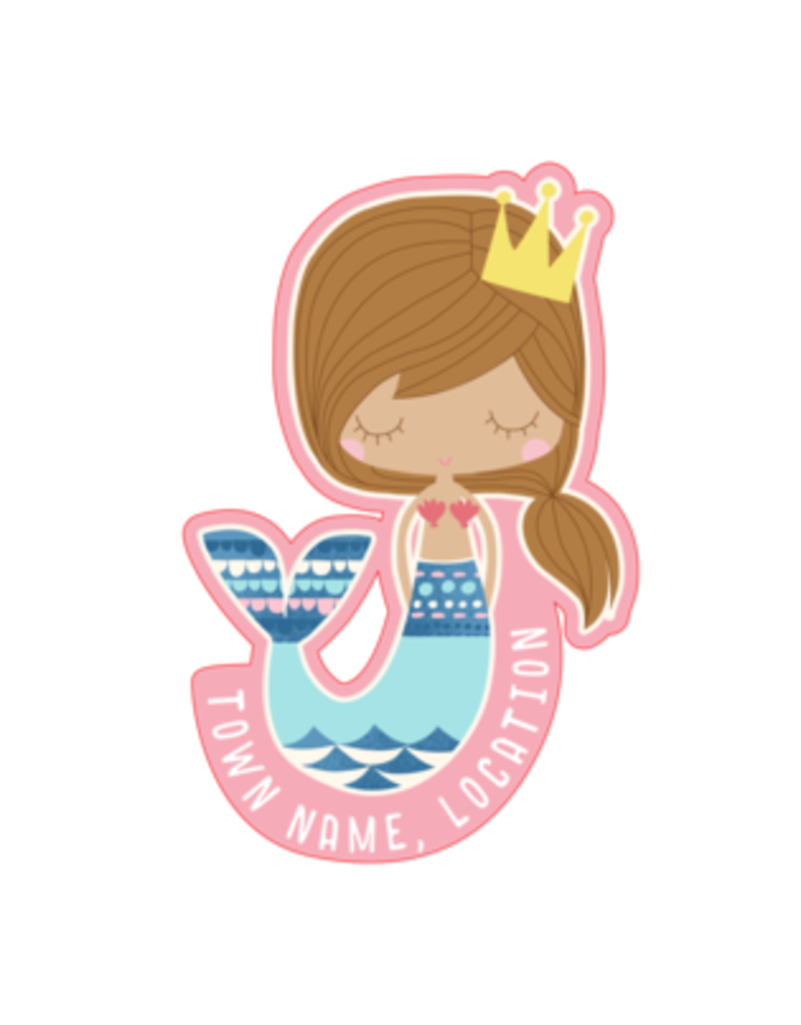 EARTH NYMPH EARTH NYMPH STICKER
