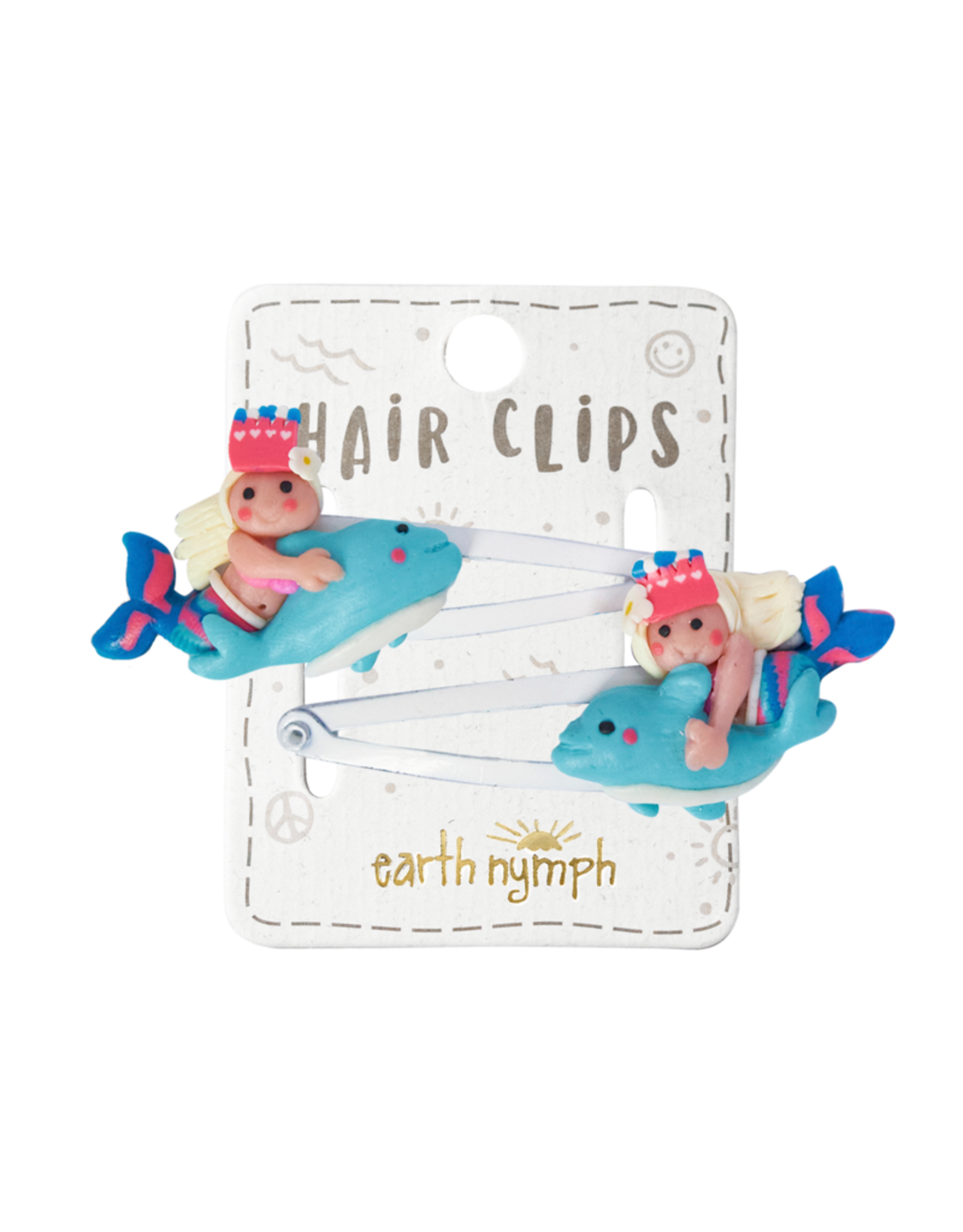 EARTH NYMPH EARTH NYMPH HAIR CLIPS FIMO