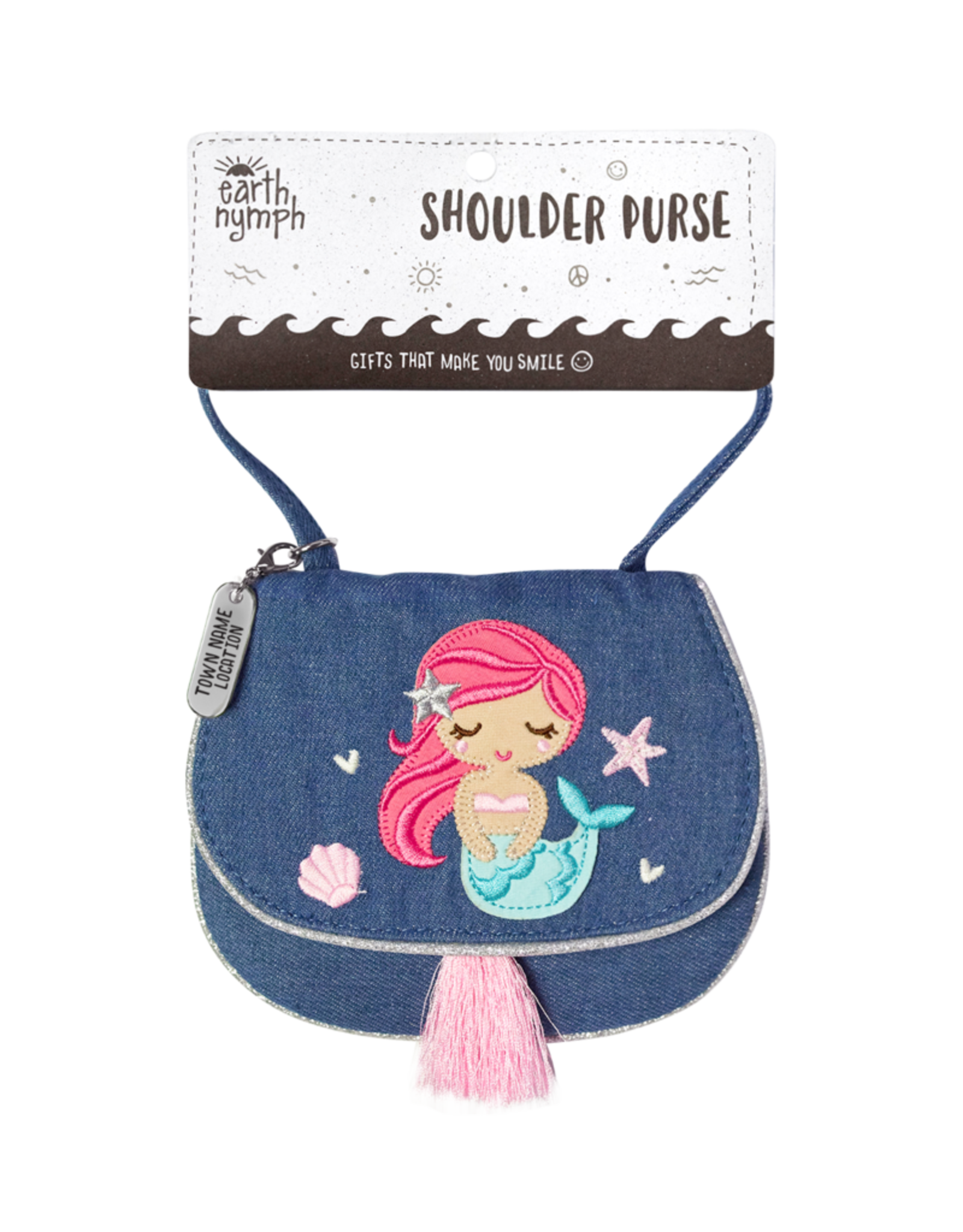 EARTH NYMPH EARTH NYMPH SHOULDER PURSE