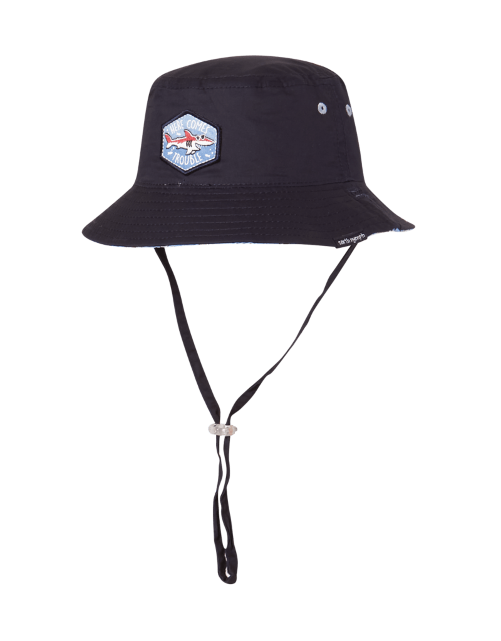 EARTH NYMPH EARTH NYMPH HERE COMES TROUBLE BUCKET HAT