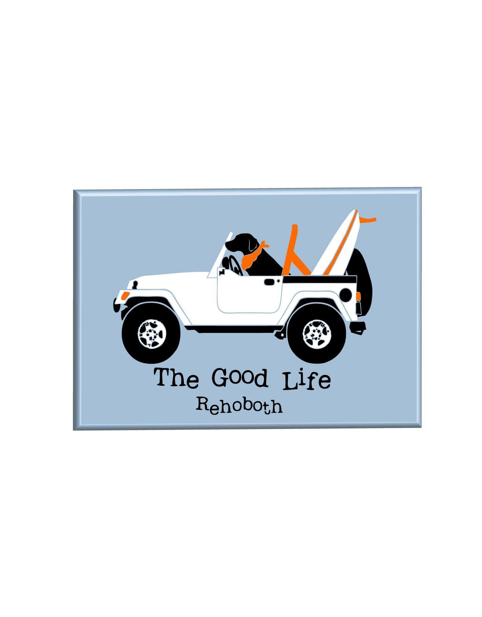 THE GOOD LIFE THE GOOD LIFE MAGNET LAB IN JEEP