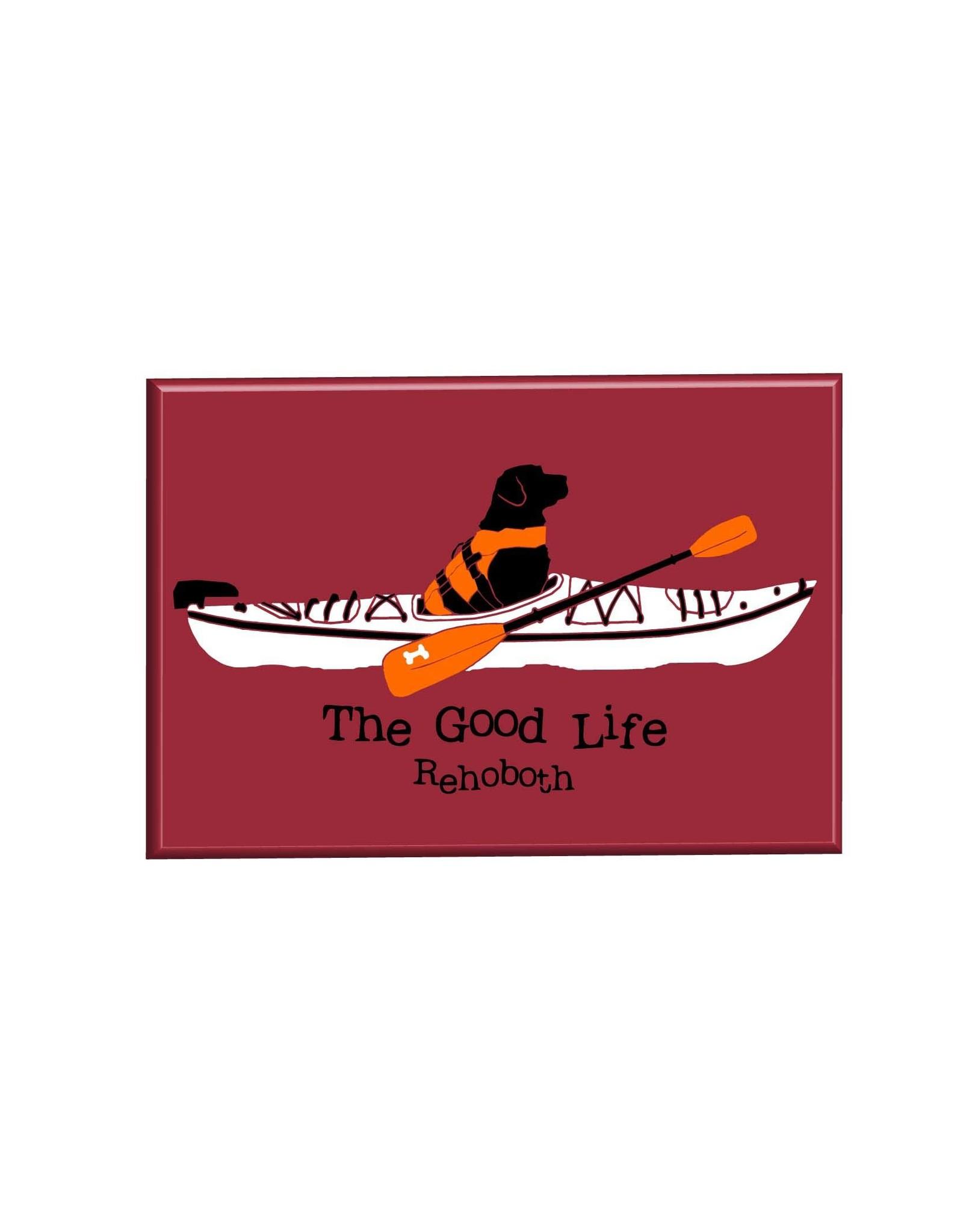 THE GOOD LIFE THE GOOD LIFE MAGNET KAYAK LAB