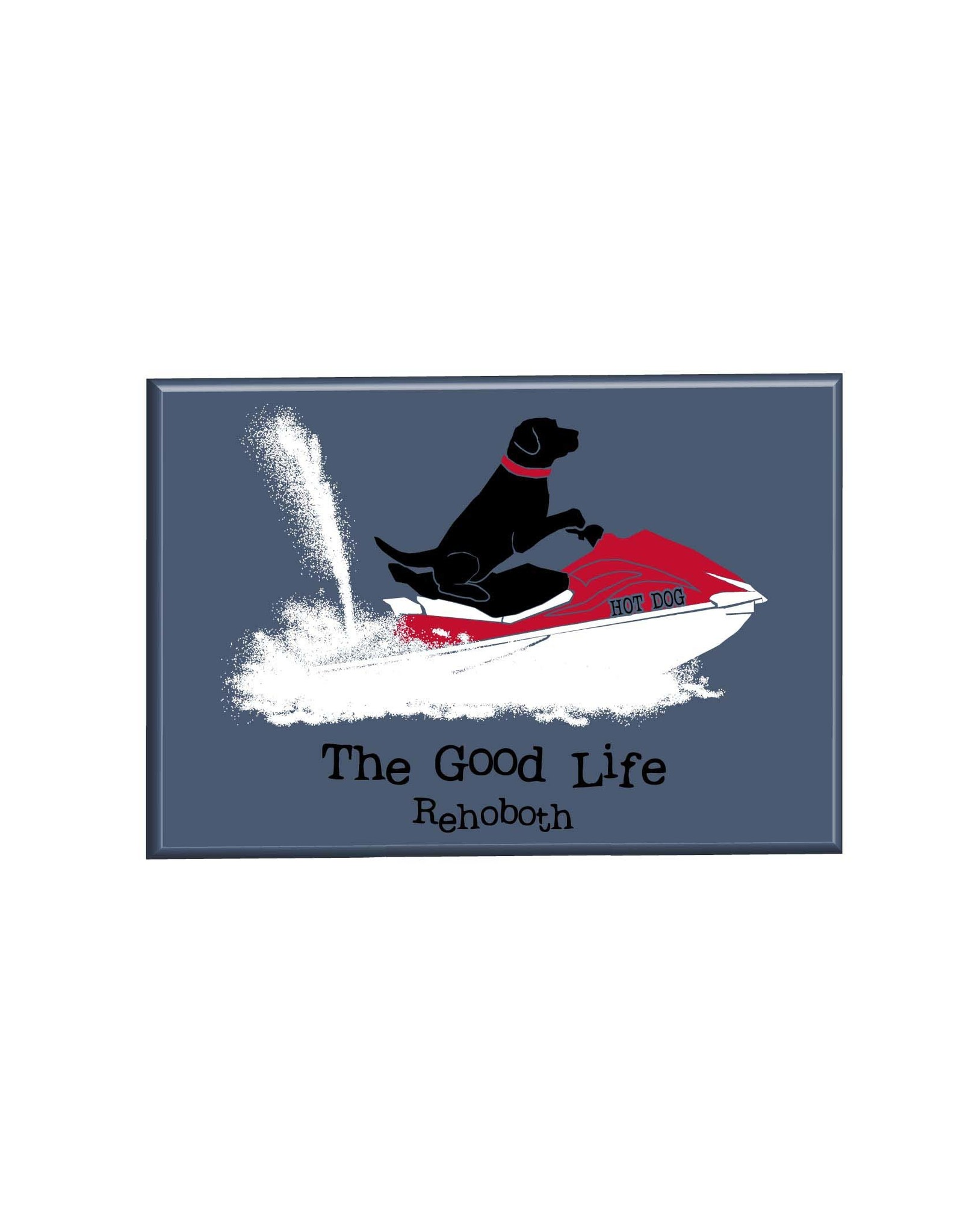 THE GOOD LIFE THE GOOD LIFE MAGNET JETSKI LAB