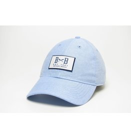 LEGACY ATHLETICS BETHANY LEGACY RELAXED TWILL HAT CHAMBRAY OARS