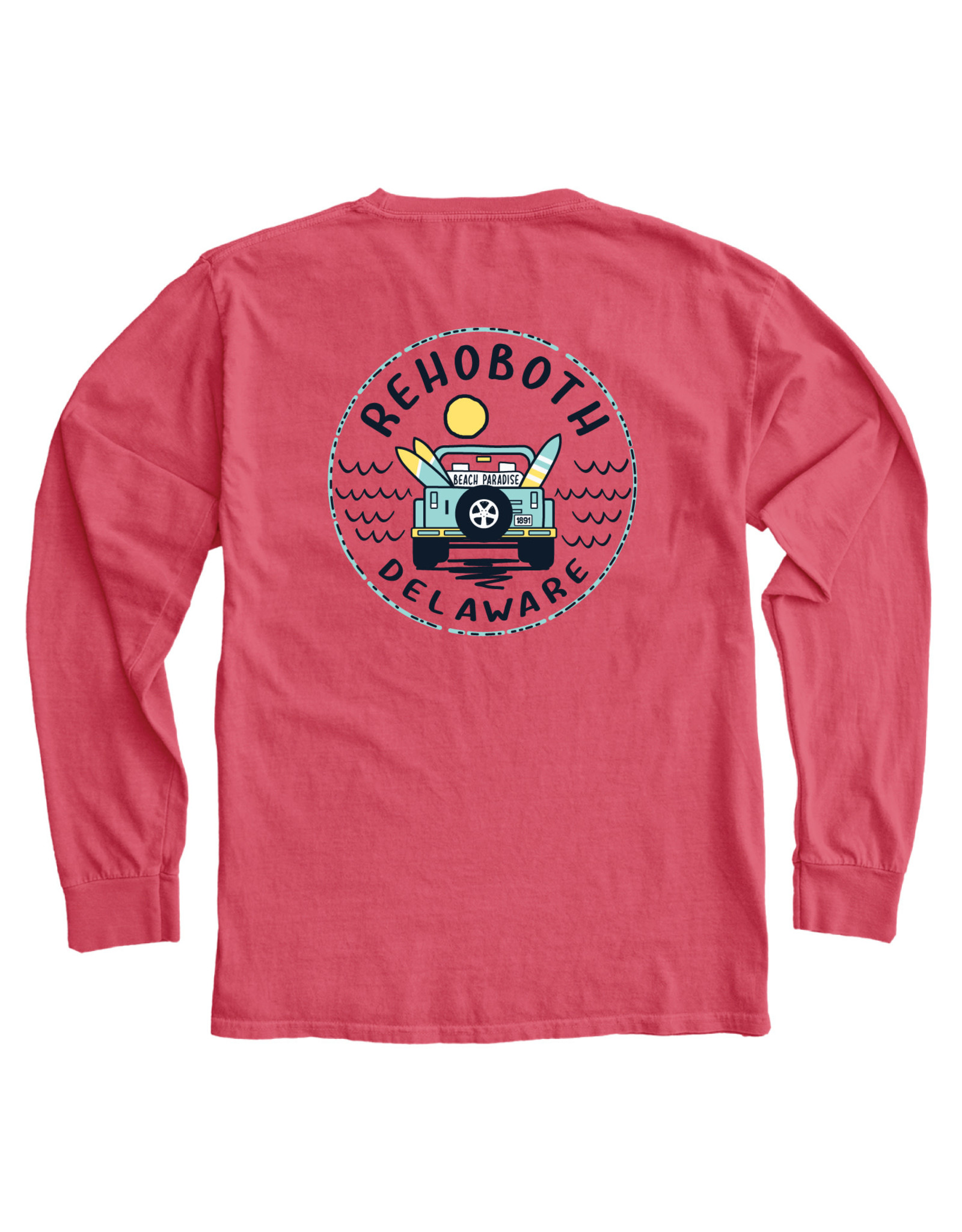 BLUE 84 CONCURRENCE JEEP LS TEE