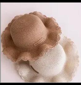 BABE BASICS YOUTH BEACH STRAW HAT