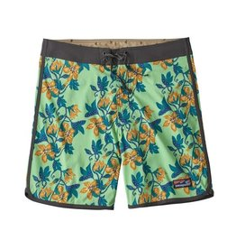 Patagonia M's Scallop Hem Stretch Wavefarer Boardshorts - 18in