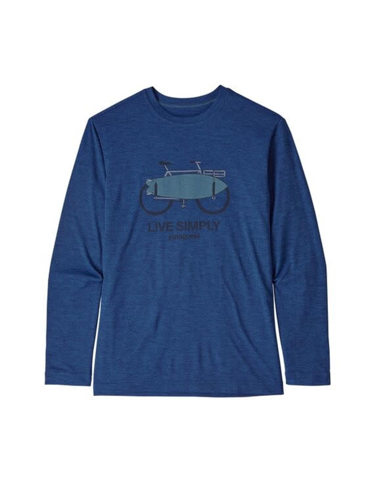 Patagonia Boys Long Sleeved Cap Cool Daily T-Shirt
