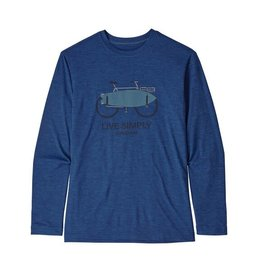 Patagonia Boys Long Sleeved Cap Cool Daily T-Shirt