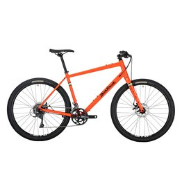 Salsa 2020 Journeyman Flat Bar Claris 650 Bike - 650b, Aluminum, Orange, Small