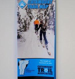 Catamount Trail Map: Northern Vermont