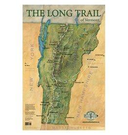 GMC GMC Long Trail Map-Wall Poster