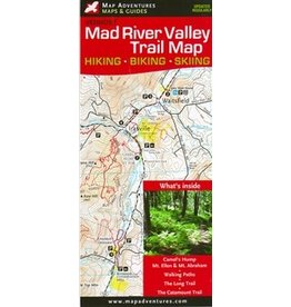 Map Adventures Mad River Valley Trail Map