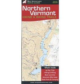 Map Adventures Northern Vermont Hiking & Biking Trails
