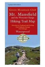 GMC Mt Mansfield and Worcester Range Hiking Trail Map