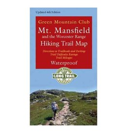 MT MANSFIELD and WORCESTER RANGE HIKING TRAIL MAP
