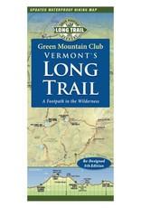 GMC Vermon't Long Trail Waterproof Hiking Trail Map 5th Ed.