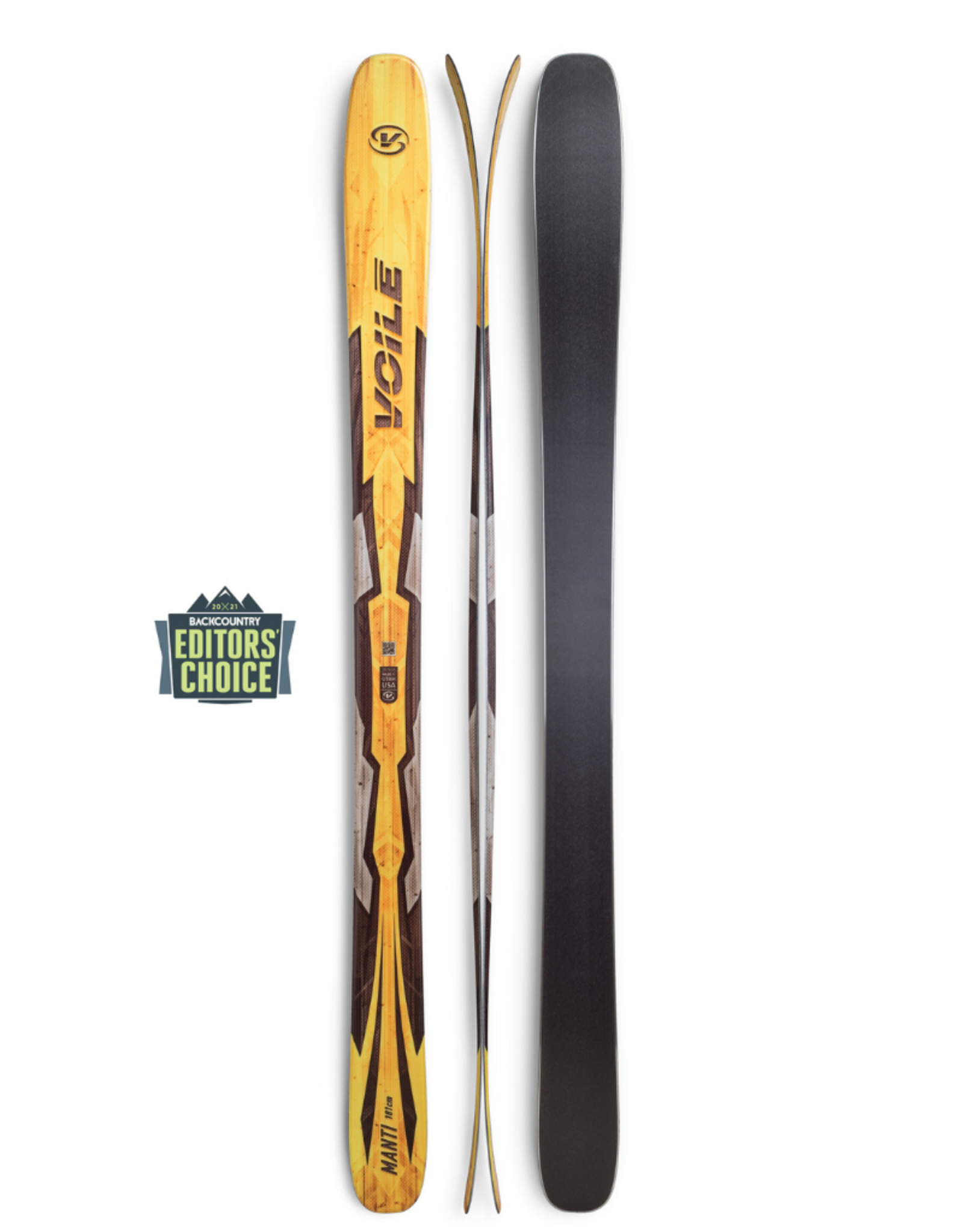 Voile Voile 2021 Manti Tele/AT Skis
