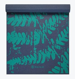 Gaiam Midnight Fern Yoga Mat 4mm