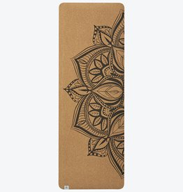 Gaiam Performance Mandala Cork ECO Yoga Mat 5mm