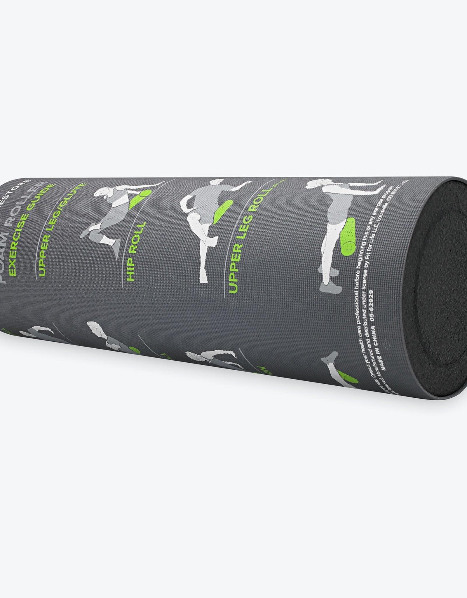 Gaiam Restore Self-Guided Foam Roller