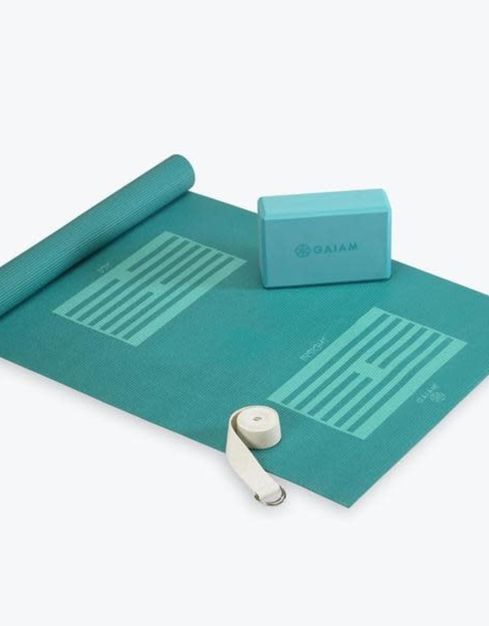 Gaiam Gaiam Yoga for Beginners Kit - blue