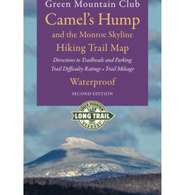 GMC GMC Camel's Hump & the Monroe Skyline Waterproof Hiking Trail Map