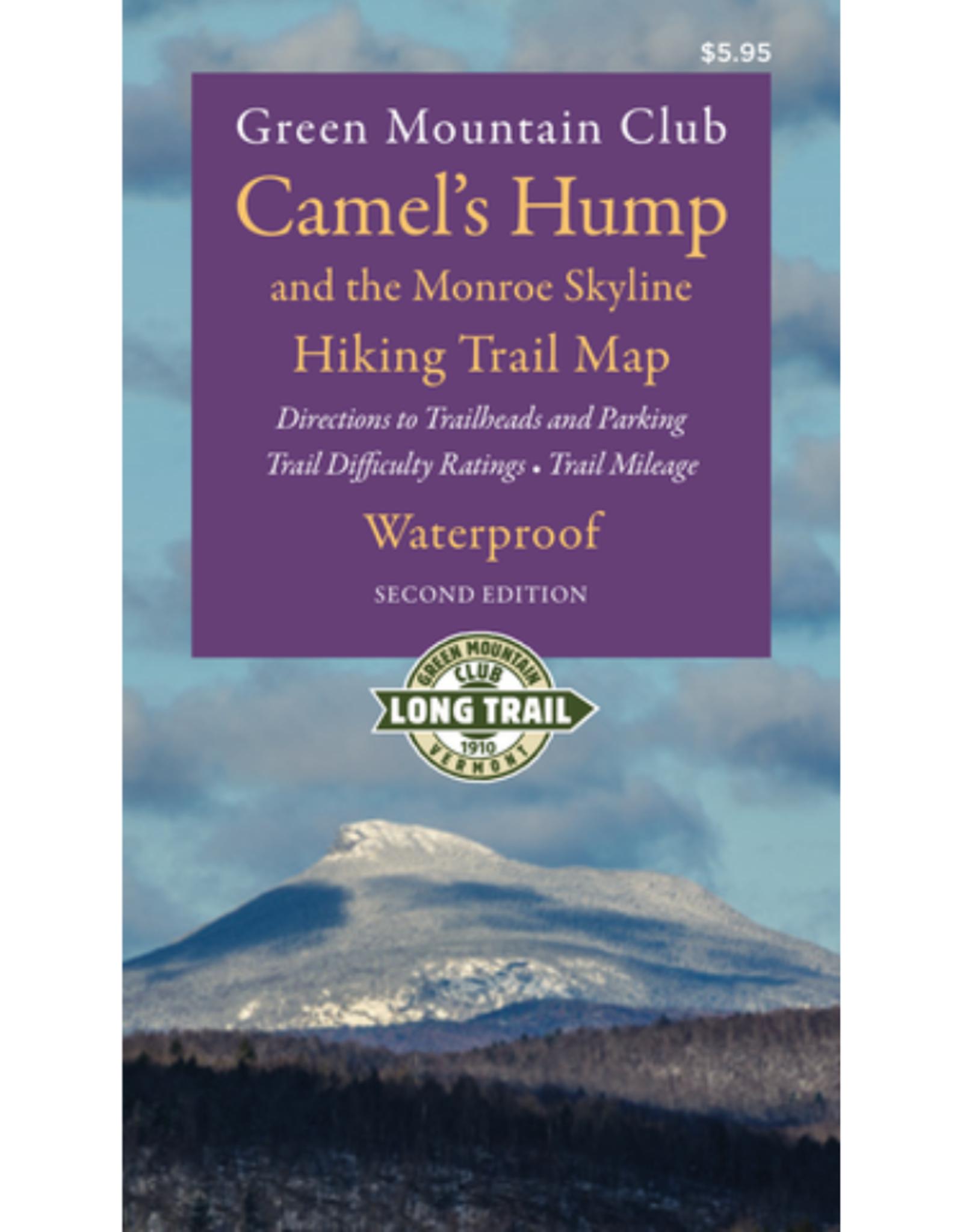 GMC Camel's Hump & the Monroe Skyline Waterproof Hiking Trail Map