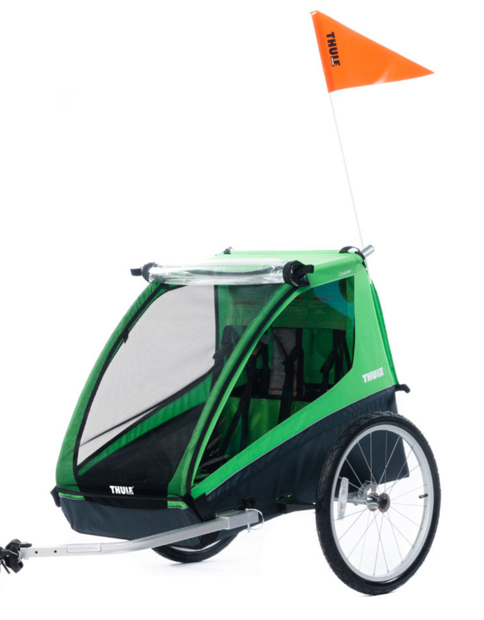 Thule Thule, Cadence2, Green w/ Cycling Kit, 2 Child