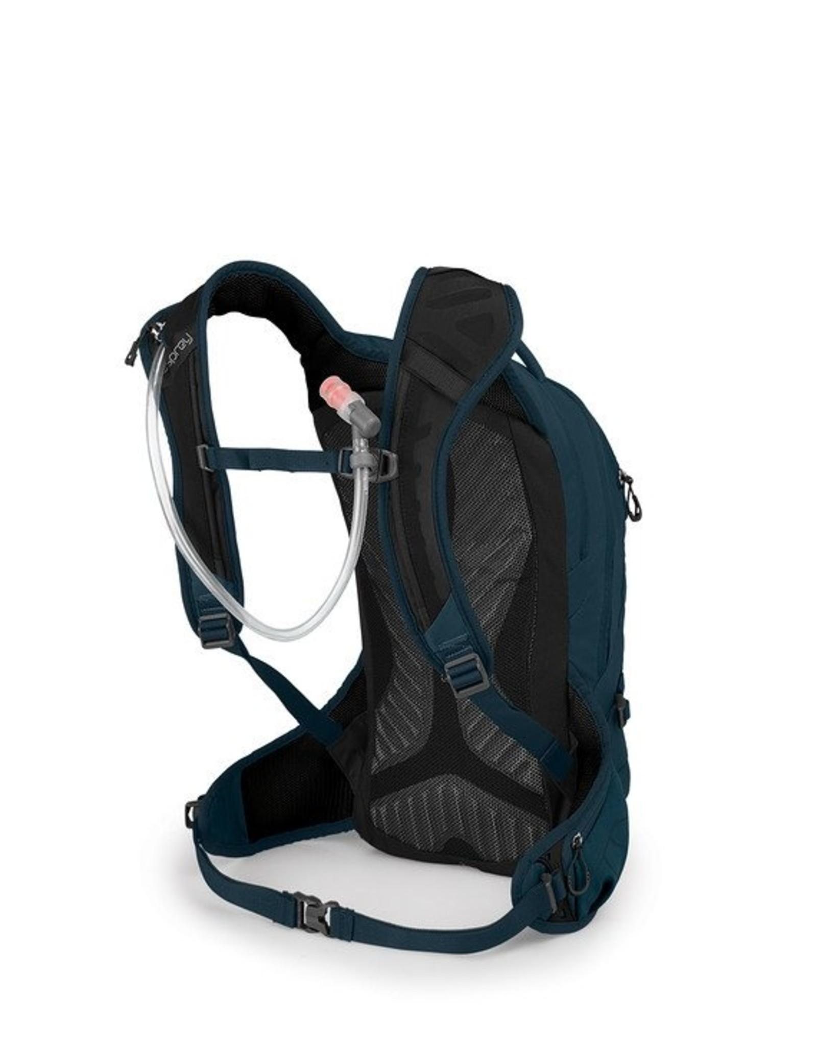 Osprey Raven 10 Women's Hydration Pack: Blue Emerald