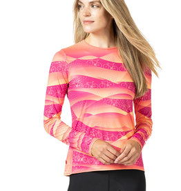 Terry Soleil Long Sleeve Top
