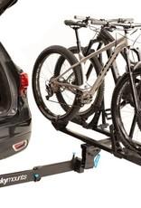 "Rocky Mounts RockyMounts BackStage 2"" Receiver Hitch Rack: 2-Bike, Black"