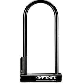 "Kryptonite Kryptonite Keeper U-Lock - 4 x 10"", Keyed, Black, Includes bracket"