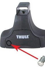 Thule Thule One-Key System 2 Pack SILVER