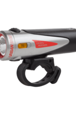 Light and Motion Urban 1000 Rechargeable Headlight: Ridgetop, Steel and Black