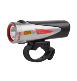 Light and Motion Light and Motion Urban 1000 Rechargeable Headlight: Ridgetop, Steel and Black