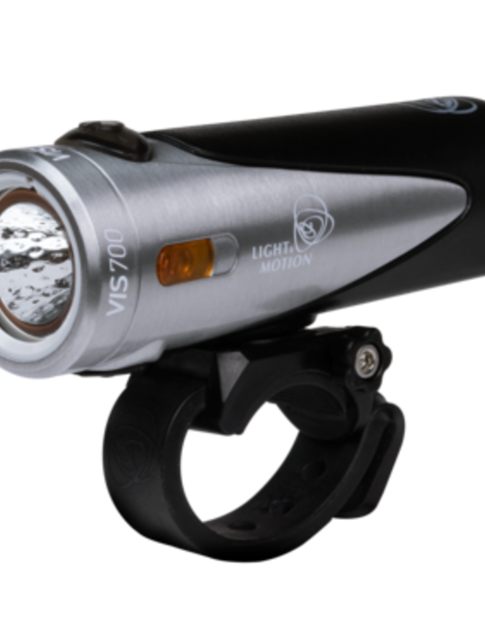 Light and Motion Light and Motion VIS 700 Rechargeable Headlight: Tundra Steel/Black