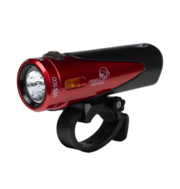 Light and Motion Light and Motion VIS 500 Rechargeable Headlight: Racer Red/Black