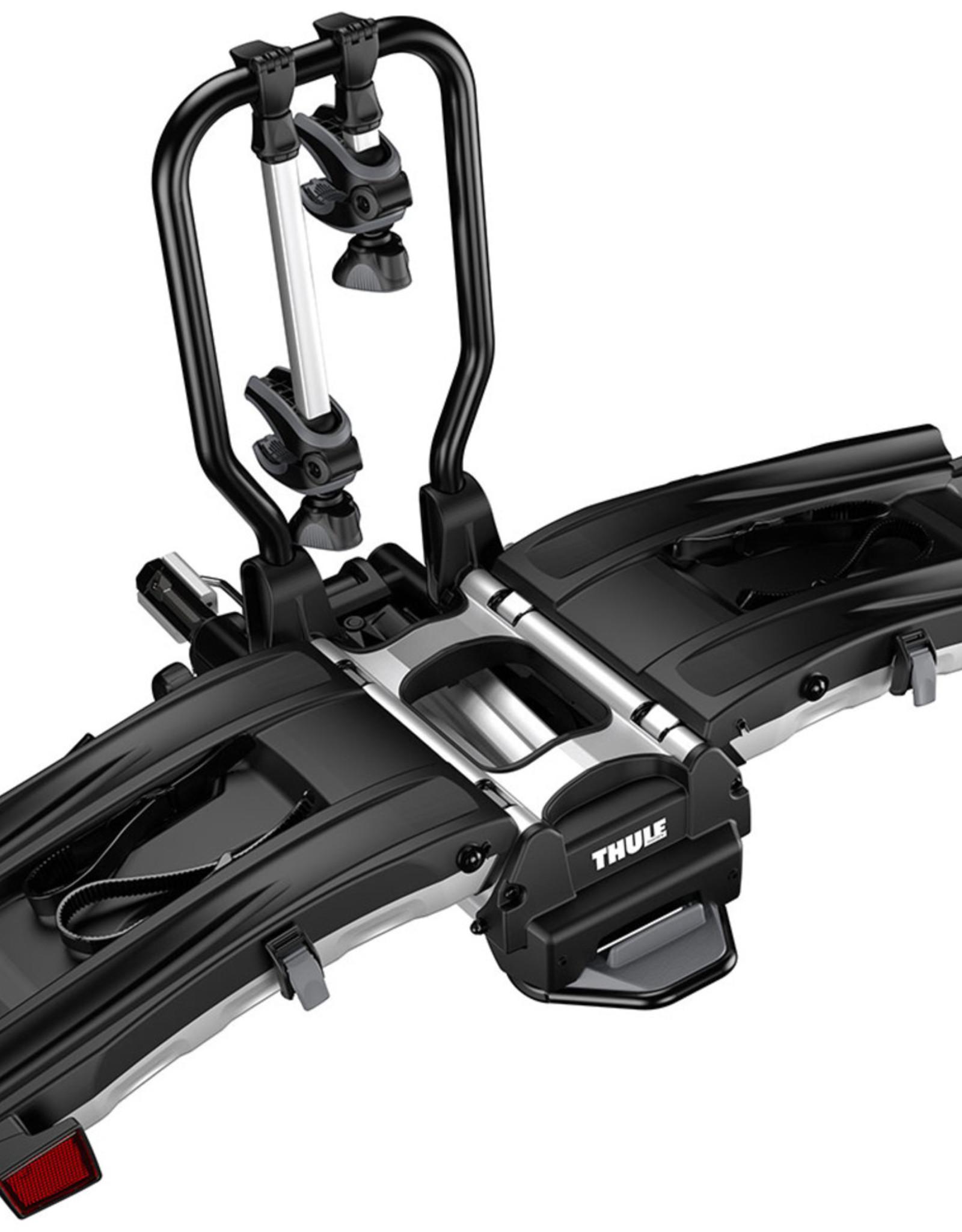 "Thule Thule EasyFold XT Hitch Bike Rack - 2-Bike, 1-1/4"", 2"" Receiver, Black"