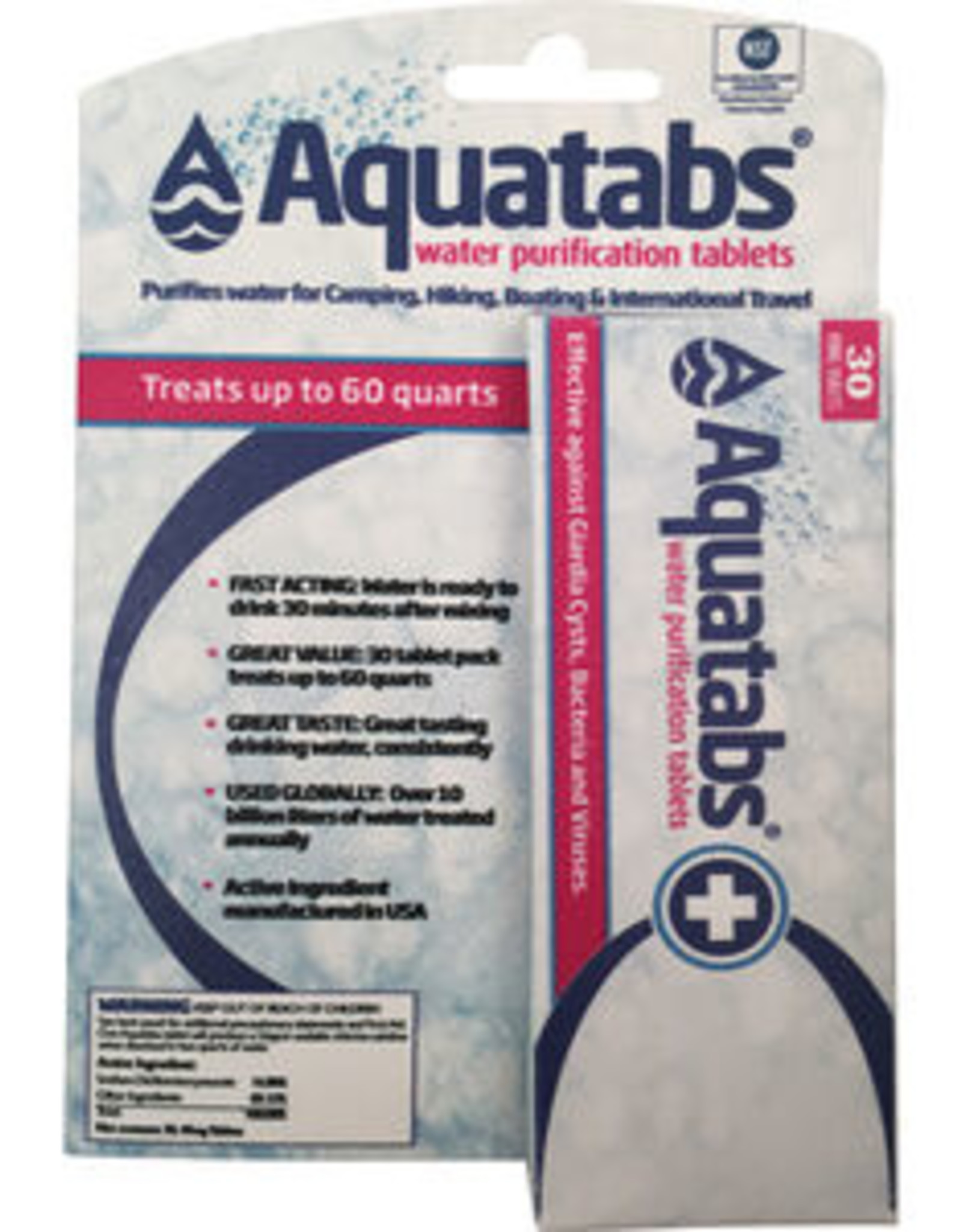 MSR MSR Aquatabs Water Purification Tablets
