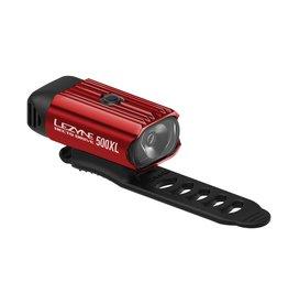Lezyne Lezyne Hecto Drive 500XL Headlight: Gloss Red